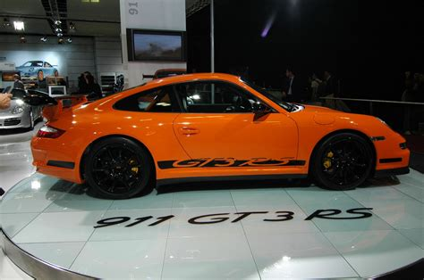 porsche gt3 rs orange ficheiro orange porsche 911 gt3 rs type 997 side jpg