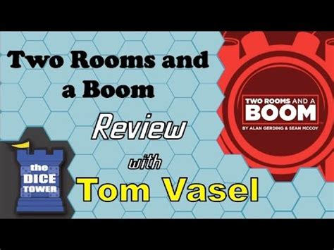 two rooms and a boom two rooms and a boom review with tom vasel