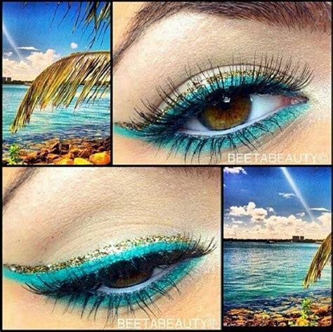 Best 25  Beach eye makeup ideas on Pinterest   Gold eye