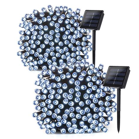 best rated christmas light checker lumitify 2 pack solar string lights review