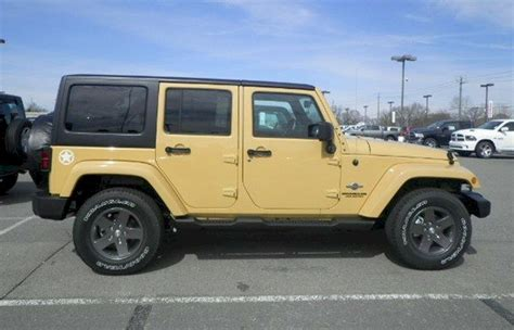 2013 Jeep Wrangler Paint Colors What Color Is Jeep Dune