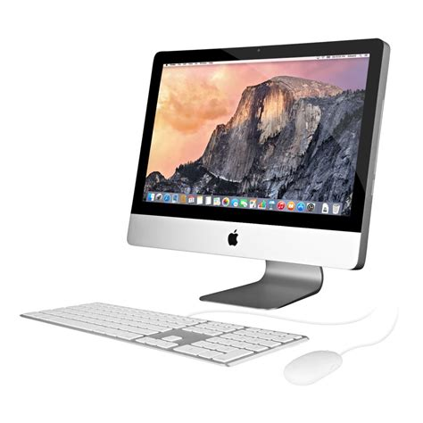 apple 215 imac desktop computer apple imac 21 5 inch intel core i5 quad core desktop