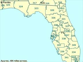 florida area code map optimus 5 search image 3 digit zip code listing