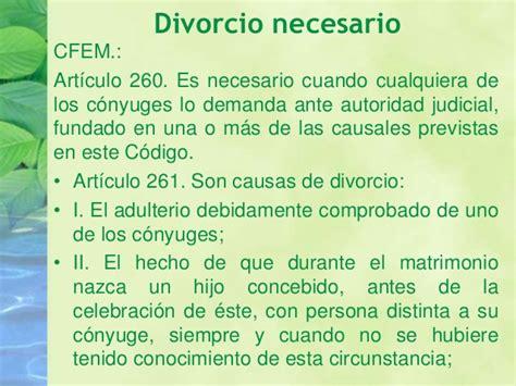 demanda de divorcio necesario sobre la causal de abandono 5 el divorcio concubinato
