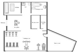 spa layout plan drawing gym and spa area plans gym equipment layout floor plan