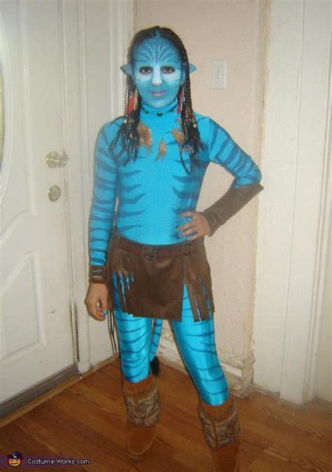 homemade avatar neytiri costume