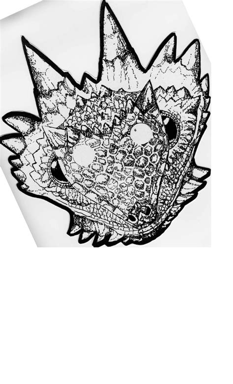 printable lizard mask template for kids decorate a horned lizard mask from this