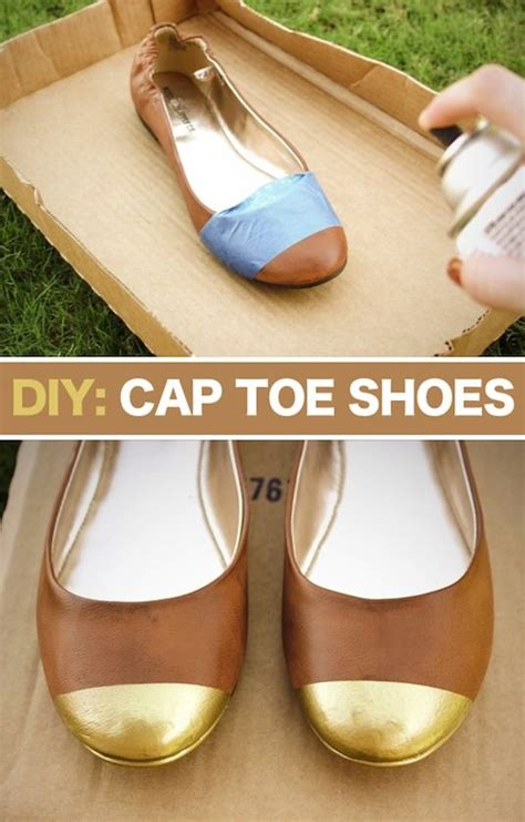 make your own shoes diy make your own cap toe flats diy alldaychic