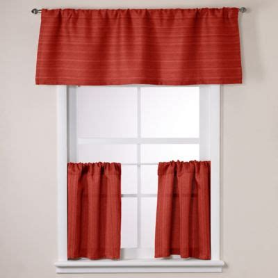 24 Inch Window Valance Buy Modern Curtain Valances From Bed Bath Beyond