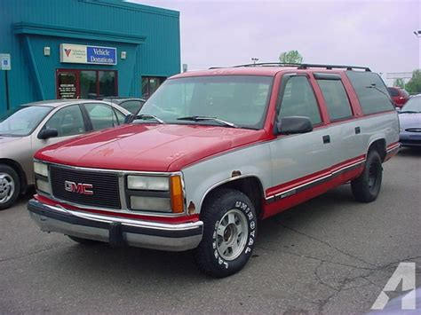 1993 gmc suburban 1500 for sale in pontiac michigan classified americanlisted com