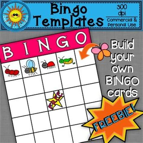 make your own bingo cards with words 25 best ideas about bingo card template on