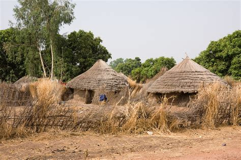 Foundation For Homes by File Gambian Village Jpg Wikimedia Commons