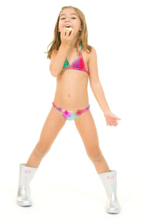 bikinis kids swimwear hippie kids