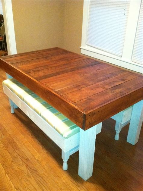 Dining Table Upcycle Ideas Reclaimed Pallet Wood Dining Table Upcycled Louisiana Small