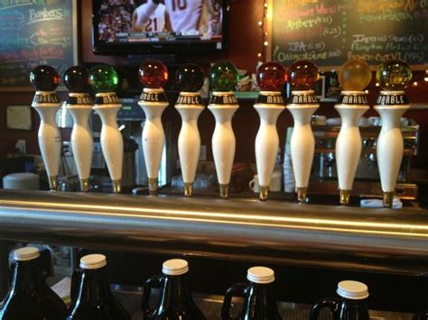 marble tap room foto de marble tap room santa fe marbles on the taps tripadvisor
