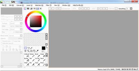 cara paint tool sai gratis free paint tool sai portable niat banget