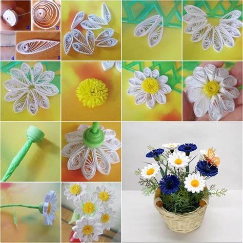 quilling chrysanthemum tutorial diy delicate quilling basket icreativeideas com