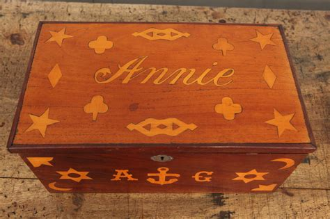 sailor boxes antique inlaid sailor box for sale at 1stdibs