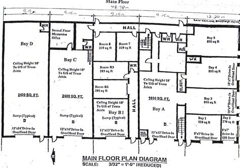 warehouse floor plan template commercial warehouse industrial bay floorplan