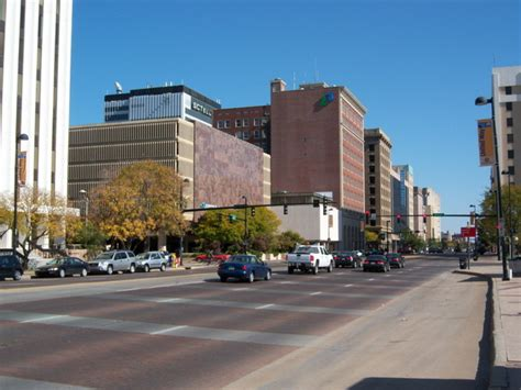 Search Wichita Ks Wichita Ks Douglas Ave In Downtown Wichita Photo Picture Image Kansas At City