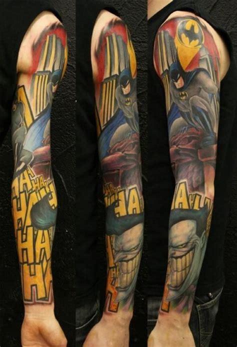 batman tattoo sleeve designs book nerd reviews