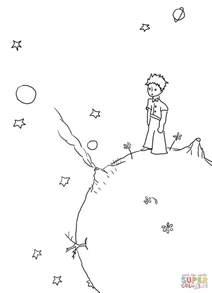 dibujo de el principito de antoine de saint exup 233 ry para