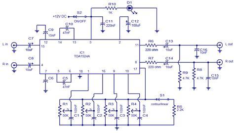 4558 tone circuit diagram lifiercircuits tone