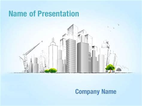 building a powerpoint template architectural building powerpoint templates