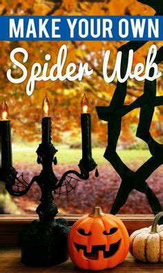 how to make your home ready for halloween design bookmark 3717 how to make a spider web out of rope knots spider webs