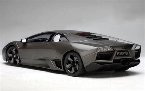 Bburago 1 24 Lamborghini Reventon Matte Grey lamborghini reventon grey autoart 1 18 diecast car