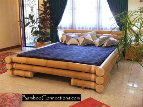 bamboo style bedroom furniture design bamboo bad roomhome designs
