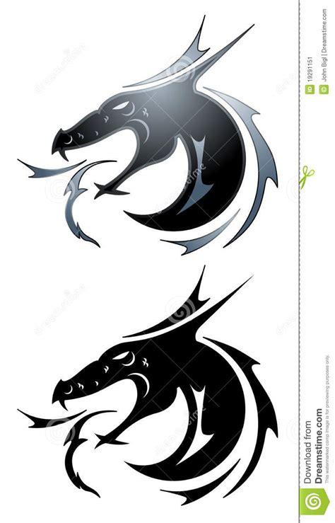 black dragon tattoo legian black dragon tattoo stock image image 19291151