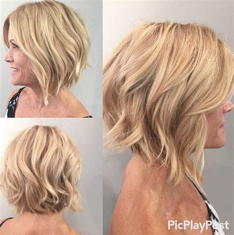 Wavy Graduated Bob | 50 fabulous classy graduated bob hairstyles for women