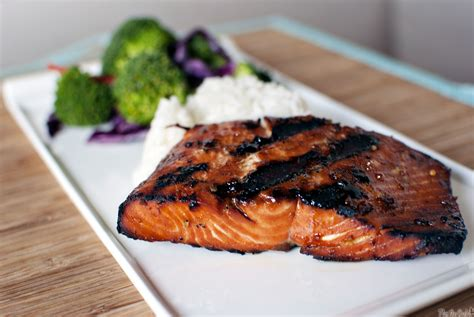 grilled salmon and bicycle races pass the sushi