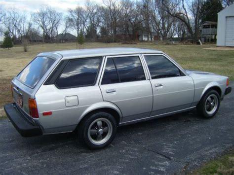 Toyota Corolla Rust Sell Used Toyota Corolla Wagon 1982 Vintage School No