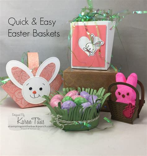 four quick easy easter baskets