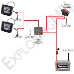 road lights wiring diagram images