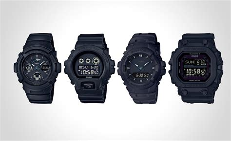 G Shock Series Black g shock has released black out basic series gxw 56bb 1jf