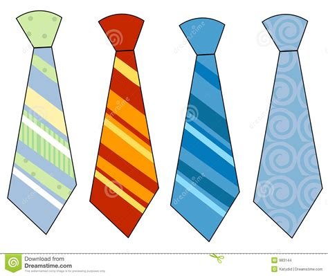 Neck Tie Clip colouful clipart necktie pencil and in color colouful