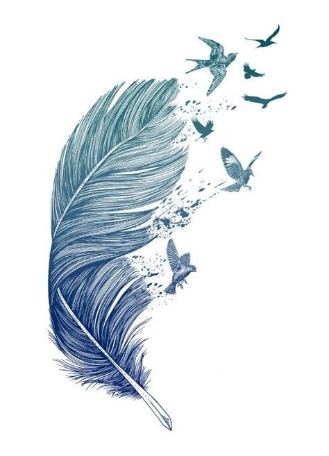 feather pen tattoo tumblr les 25 meilleures id 233 es concernant plume d aigle tatouages