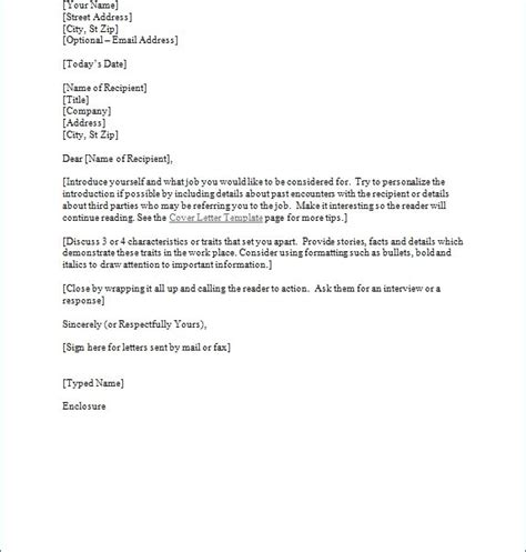 cover letters sles free resume cover letter template for word sle cover