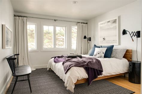 casual  calm modern bedrooms