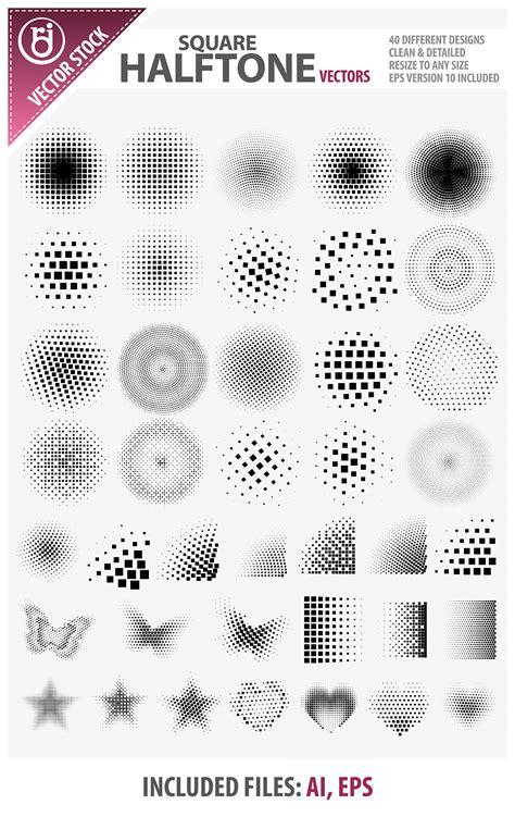 10 distressed vector halftone patterns for illustrator square halftone vectors by rjdezigns on deviantart