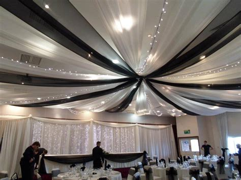 ceiling draping wedding wedding breakfast creative cover hire