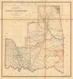 indian territory map indian territory 1891 barry ruderman