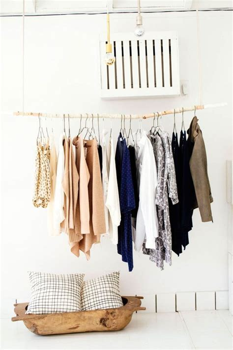 cool makeshift closet ideas   home digsdigs