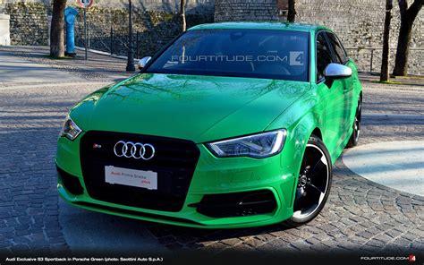 Audi S3 Exclusive by Audi Exclusive Porsche Green S3 Sportback Saottini Auto