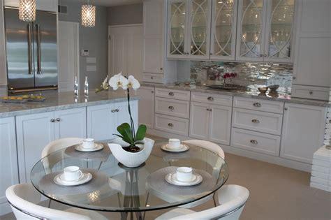 mirrored backsplash in kitchen 8 top tile types for your kitchen backsplash select countertops atlanta 404 907 3381