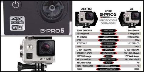 Harga Brica B Pro5 Alpha Edition 4k brica b pro5 alpha edition wifi 12mp silver
