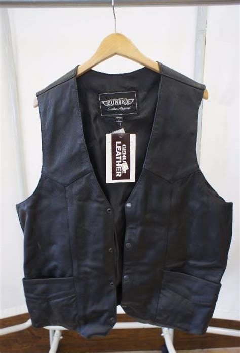 leather apparel unik leather apparel vest motorcycle leather apparel and